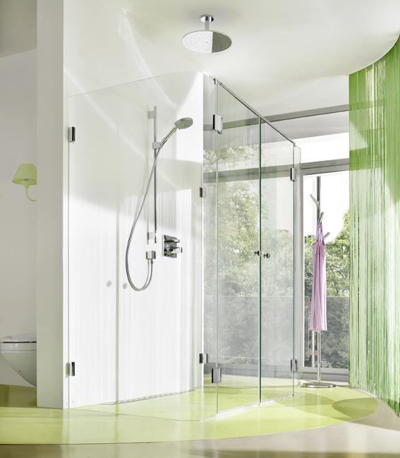 Hygienisch duschen mit Duschkabinen