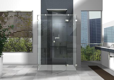 Duschabtrennungen aus Glas haben einen ganz entscheidenden Vorteil