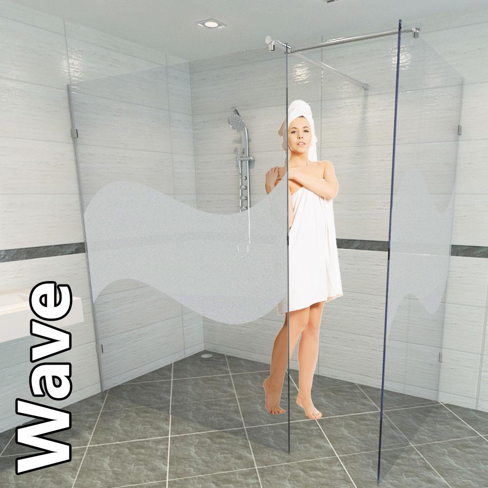 mit einer duschtrennwand aus glas er ffnen sich viele. Black Bedroom Furniture Sets. Home Design Ideas